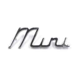 INSIGNIA TRASERA SCRIPT 'MINI'