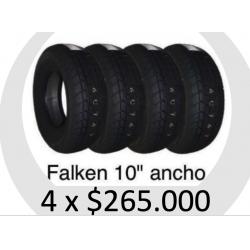 JUEGO 4 NEUMATICOS FALKEN FK07E 165x70x10 72H