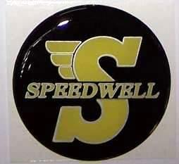 """EMBLEMA 27 MM """"SPEEDWELL"""""""