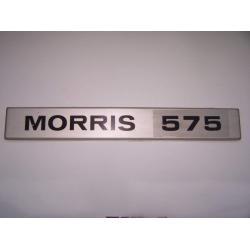 INSIGNIA METALICA MORRIS 575 (ORIGINAL BL)