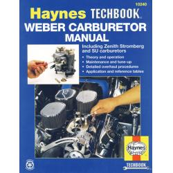 LIBRO HAYNES WEBER, ZENITH STRMBERG AND SU CARBURATORS MANUAL