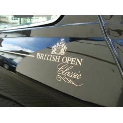 KIT ADHESIVOS BRITISH OPEN (COMPLETO) - INGLES