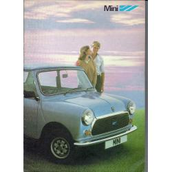 BROUCHURE VENTA MINI CITY y MINI HL 1979/1980/1981/1982