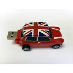 PENDRIVE USB 8G / COLOR ROJO/UK (Pregrabado con Catalogo Minispares y manual de despiece). También disponible en otros colores.