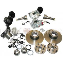 KIT FRENOS DE DISCO GT / ROVER 8.4 (ARO 12 O 13)