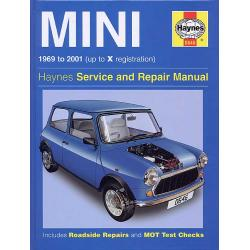 LIBRO HAYNES 1969-2001 MINI WORKSHOP MANUAL