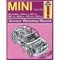 LIBRO HAYNES 59-69 MINI WORKSHOP MANUAL