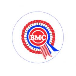 EMBLEMA 42MM BMC (CENTRO LLANTA)