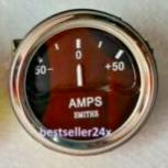 AMPERIMETRO 60-60 SMITHS FONDO NEGRO (REPLICA)